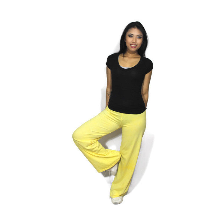 Citrine Yoga Pants