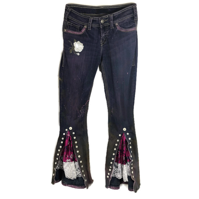 Purple Submarine Jeans