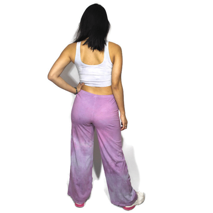 Purple Quartz Yoga Pants