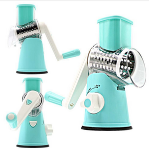 HIGH-SPEED MULTIFUNCTIONAL VEGETABLE SLICER HAND CRANK MANDOLINE