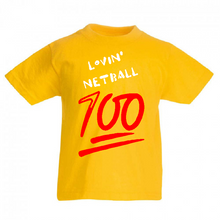 Load image into Gallery viewer, Lovin' Netball 100% Tee - Adult - Sportologyonline