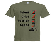 Load image into Gallery viewer, Netball Checklist Tee - Adult - Sportologyonline