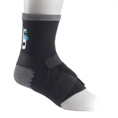 Elastic Ankle Support with Straps - Sportologyonline - Ultimate Performance