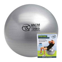 Load image into Gallery viewer, 65cm Swiss Ball - Sportologyonline - Fitness Mad