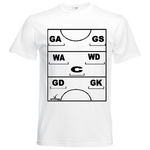 Netball Definitions Tee - Adult