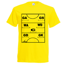 Load image into Gallery viewer, Netball Definitions Tee - Adult