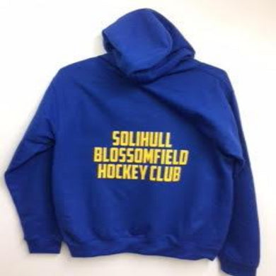 Solihull Blossomfield HC Women's Fit Zipped Hoodie - Sportologyonline - Sportology Hockey