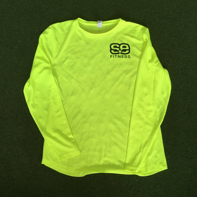 SE Fitness Yellow Long Sleeve T-Shirt