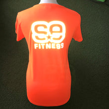 Load image into Gallery viewer, SE Fitness Orange Reflective T-Shirt - Short Sleeve - Sportologyonline