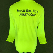 Load image into Gallery viewer, SSHAC Yellow Long Sleeve T-Shirt - Sportologyonline