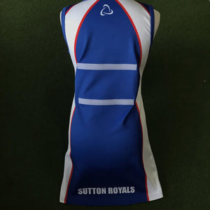 Sutton Royals NC Dress - Sportologyonline - Sportology Netball