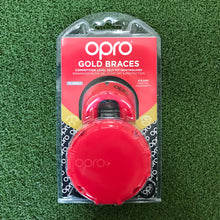 Load image into Gallery viewer, Opro Gold Braces Mouthguard - Sportologyonline