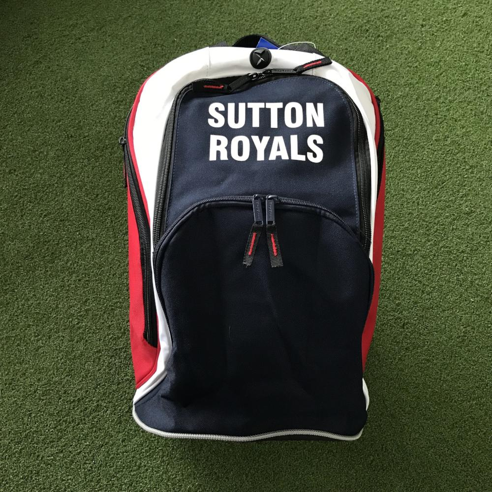 Sutton Royals NC Backpack - Sportologyonline - Sportology Netball