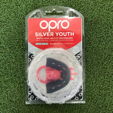 Load image into Gallery viewer, Opro Silver Youth Mouthguard - Sportologyonline