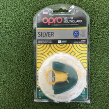Load image into Gallery viewer, Opro Silver Mouthguard - Sportologyonline - Opro