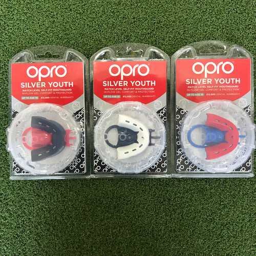 Opro Silver Youth Mouthguard - sportology-uk