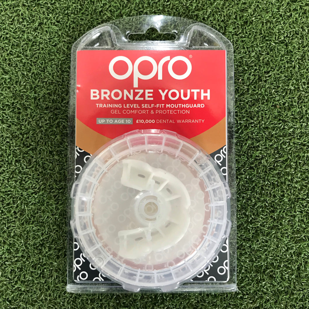 Opro Bronze Youth Mouthguard - Sportologyonline