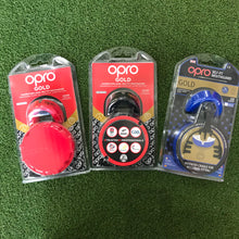 Load image into Gallery viewer, Opro Gold Mouthguard - Sportologyonline