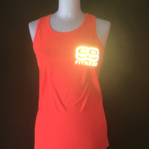 SE Fitness Orange Reflective Vest - Sportologyonline