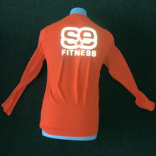 Load image into Gallery viewer, SE Fitness Orange Reflective T-Shirt - Long Sleeve - Sportologyonline