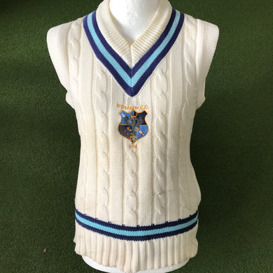 Wilnecote CC Cable Knit Slipover - Sportologyonline - Gunn and Moore
