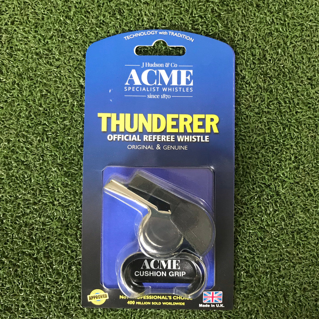 Acme Thunderer Large Whistle with Fingergrip - Sportologyonline