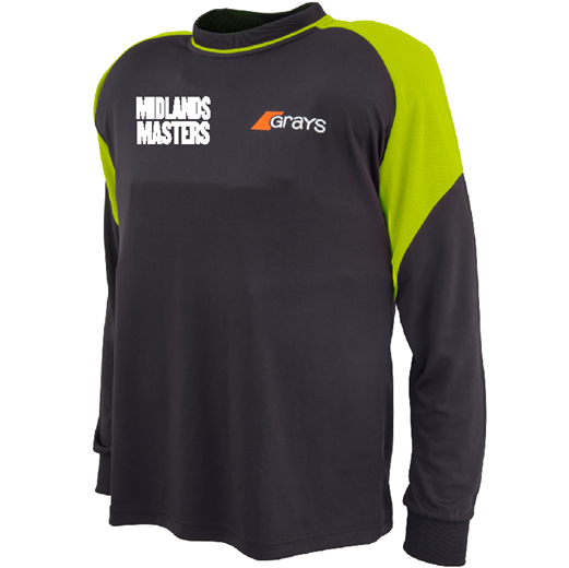 Midlands Masters Long Sleeve GK Smock - Sportologyonline - Grays