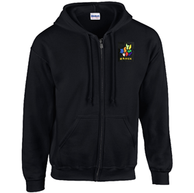 MRHUA Zipped Hoodie - Women's and Men's Fit - Sportologyonline