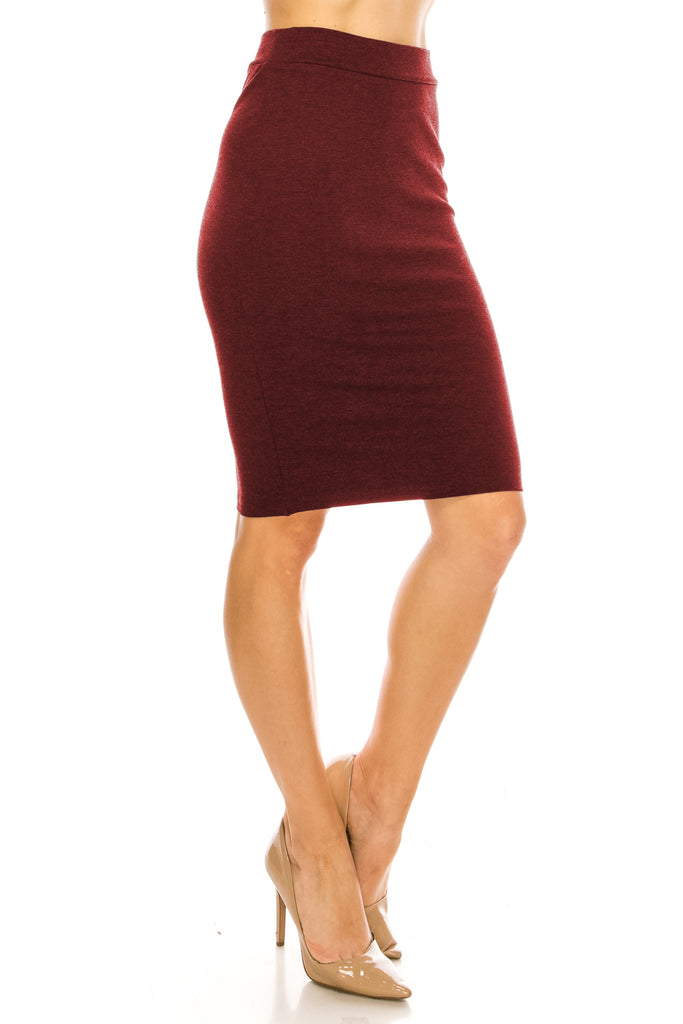 The Perfect Fitting Knee Length Pencil Skirt - CHI-CHI NYC