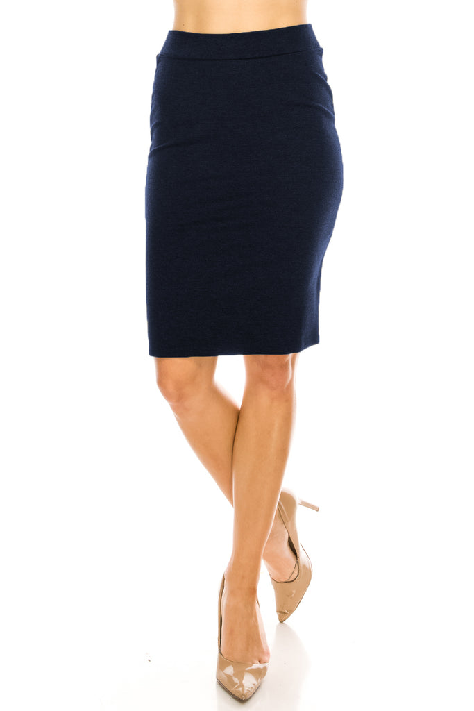 The Perfect Fitting Knee Length Pencil Skirt