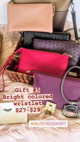 Wristlet Gift idea for Valentines Day