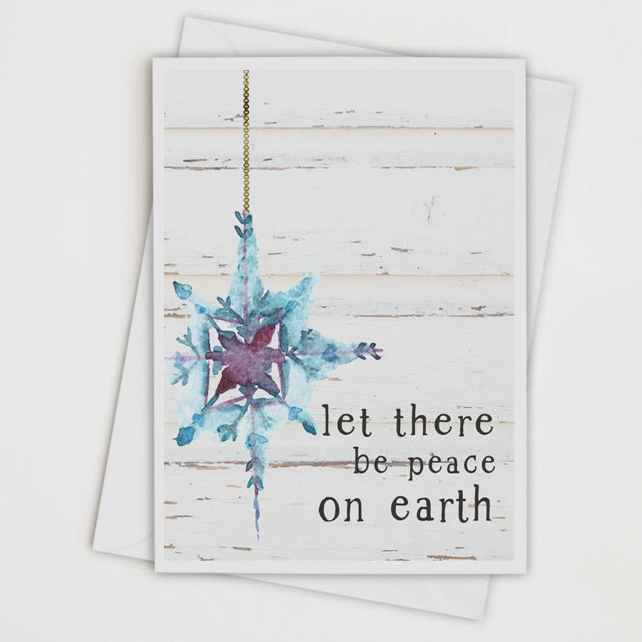 Let There Be Peace on Earth Card