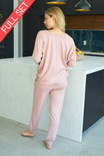 Load image into Gallery viewer, Solid Light Pink Lounge Pant