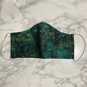 Space Green - Buffalo Face Mask