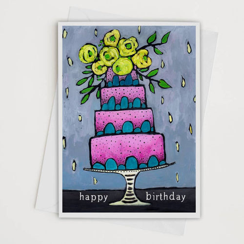 Happy Birthday Art Card