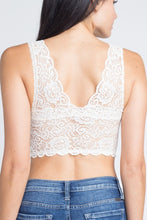 Load image into Gallery viewer, Padded Lace Bralette