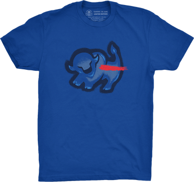 Royal Blue Bison King T-Shirt