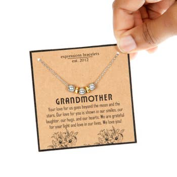 Grandmother Family Symbol Necklace