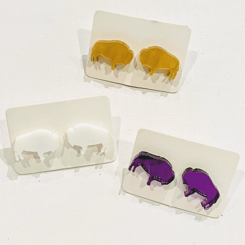 Buffalo Stud - Color Styles (Matte + Clear Options)