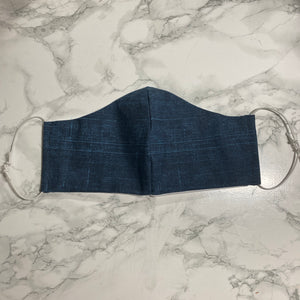 Navy Denim - Buffalo Face Mask