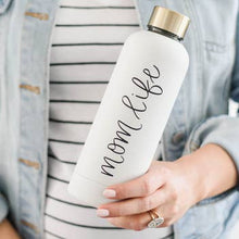 Load image into Gallery viewer, Mom Life Metal Water Bottle