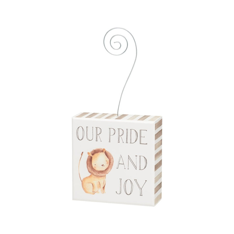 Our Pride and Joy Baby Photo Holder