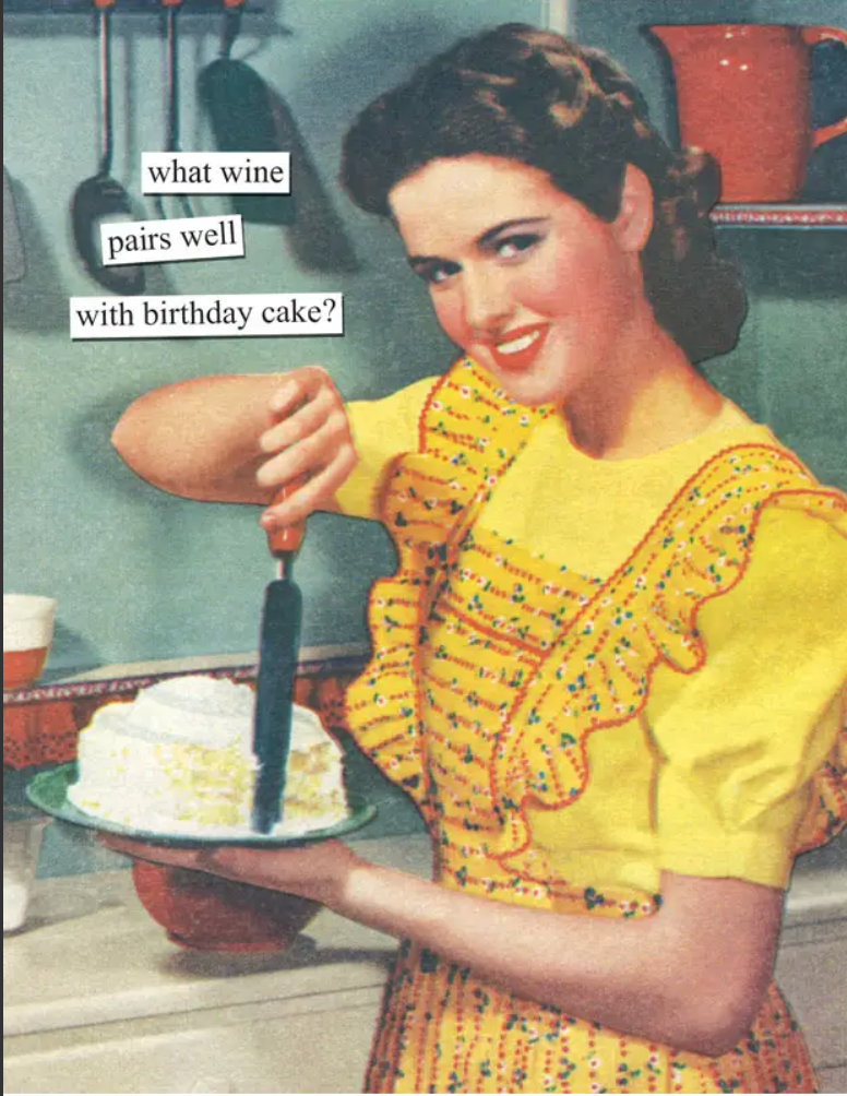 What Wine Pairs Well With Birthday Cake? - Birthday Card