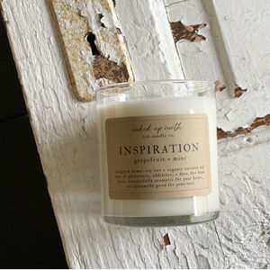 Inspiration - Grapefruit & Mint Candle