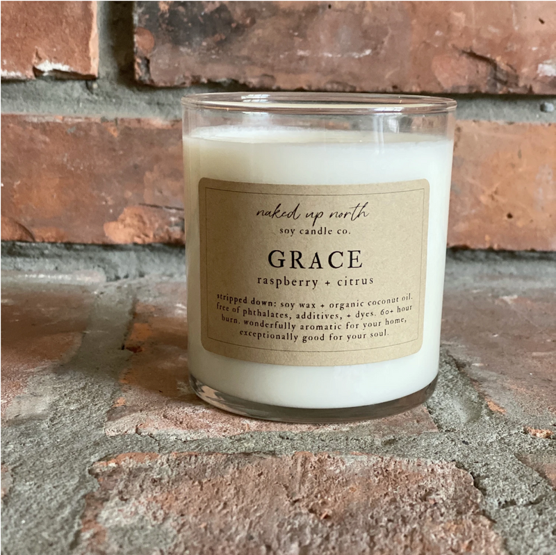 Grace - Raspberry & Citrus Candle