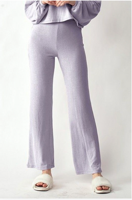 Ultra Soft Lavender Flared Lounge Pants
