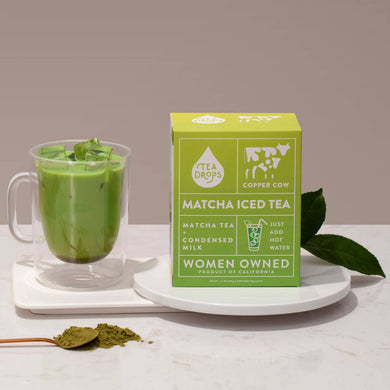 Matcha Latte Tea Kit - Hot or Cold