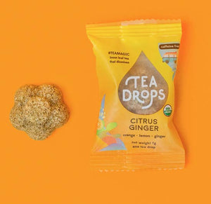 Single Serve Tea Drops - Citrus Ginger