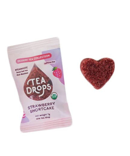 Single Serve Tea Drops - Strawberry Shortcake