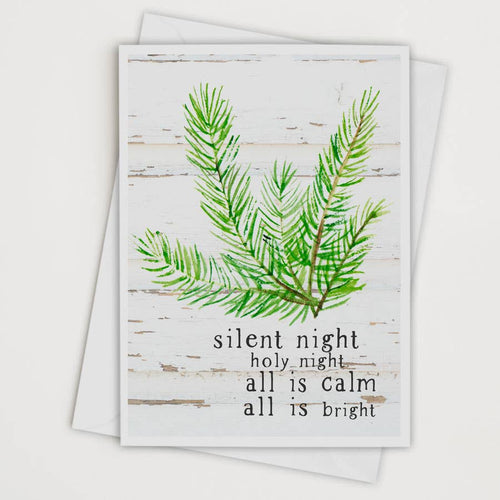Silent Night Holy Night Card